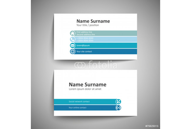Business card 64239