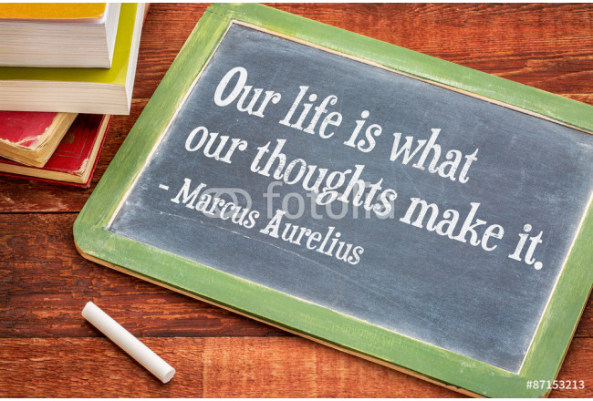 Marcus Aurelius on life and thoughts 64239