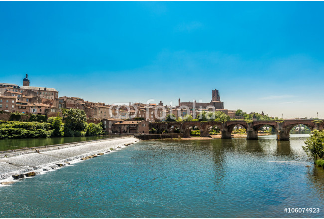 22nd of August 1944 Bridge in Albi, France 64239