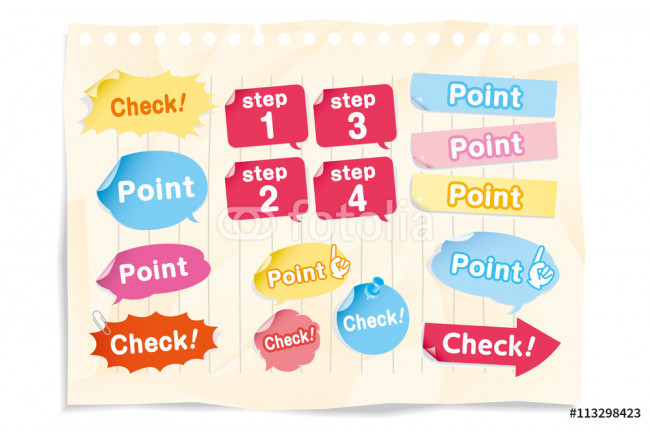 Painting Navigation pins set Vector