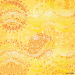 Beautiful texture with mandalas in warm colors 64239