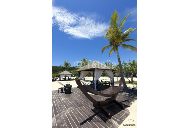 Tropical beach holiday in Borneo. 64239