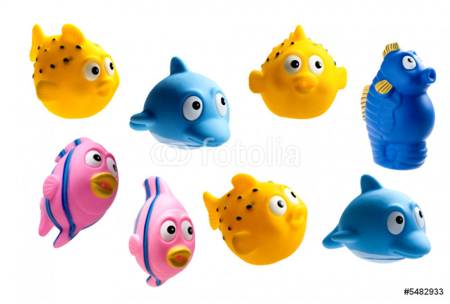 rubber fishes 64239