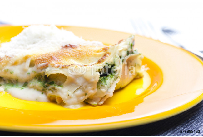 lasagne with salmon and spinach 64239
