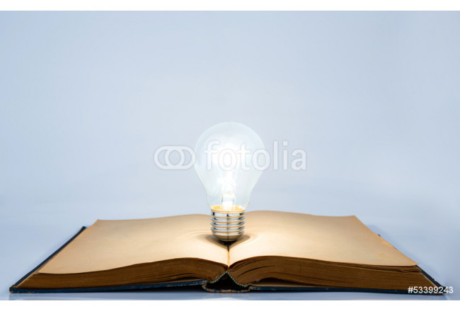 Book and light bulb 64239