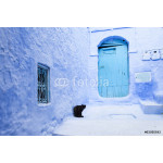 Street in medina of blue town Chefchaouen, Morocco 64239