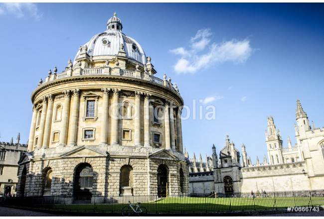 Radcliffe Camera at the university of Oxford 64239