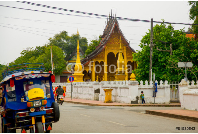 The temple in Laos. 64239