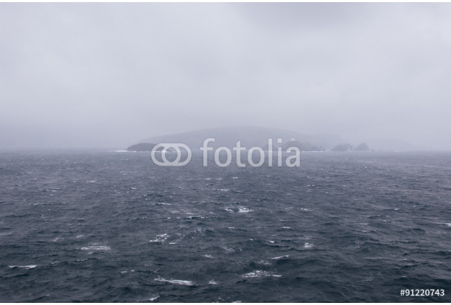 Stormy and dark sea 64239
