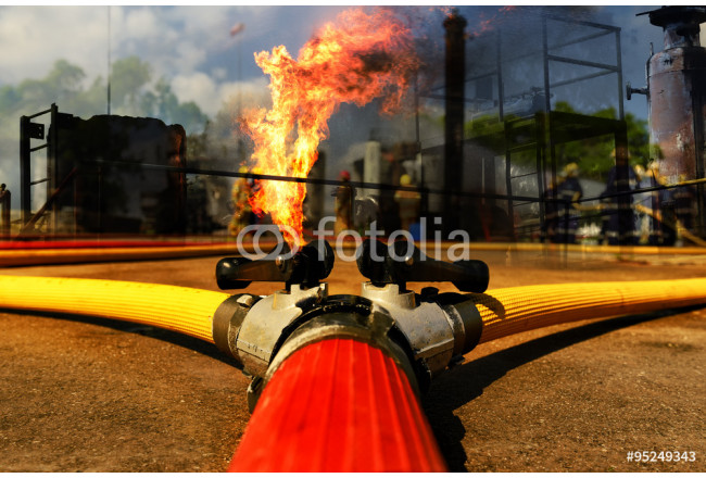 Fire hose connection ,fire fighting equipment for fire fighter. 64239