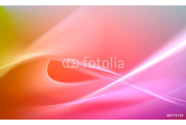 Bild auf Leinwand Colorful 3D fractal (fantasy,abstract background) 64239