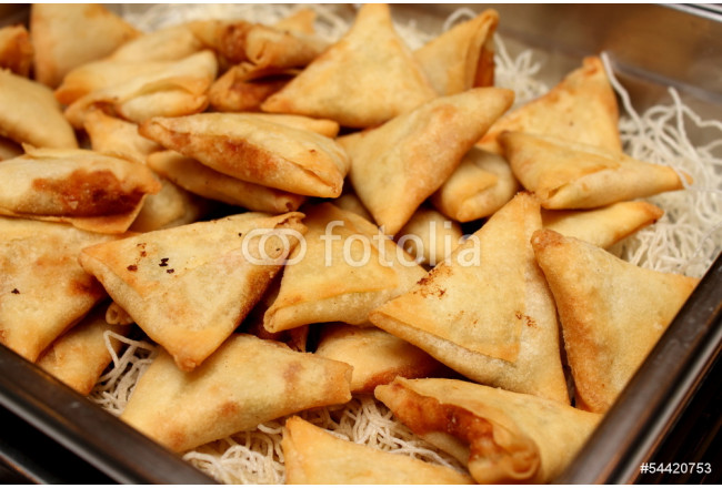 indian samosa's on an ndian style 64239