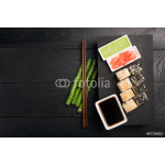 Sushi roll with fish 64239