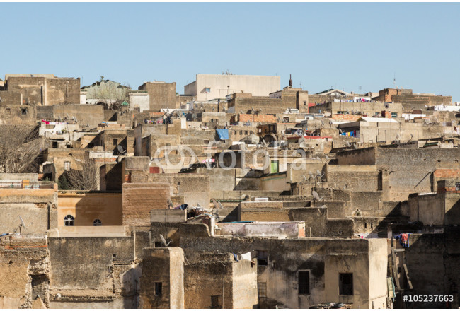 view of the ancient medina of Fes 64239