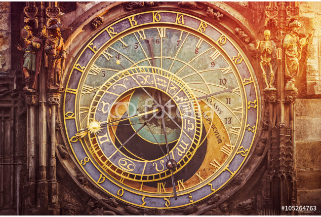 Astronomical Clock on Prague Old Town Square 64239
