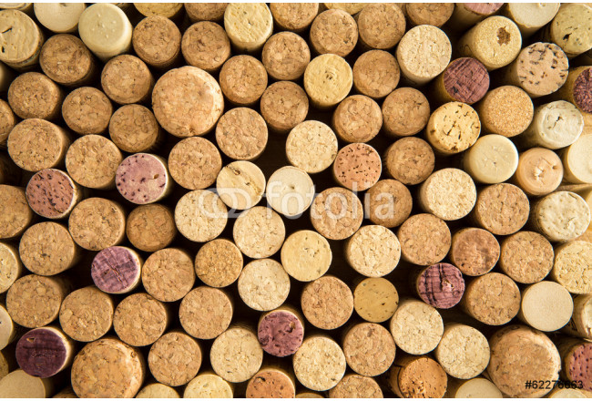 Background texture of neatly arranged corks 64239