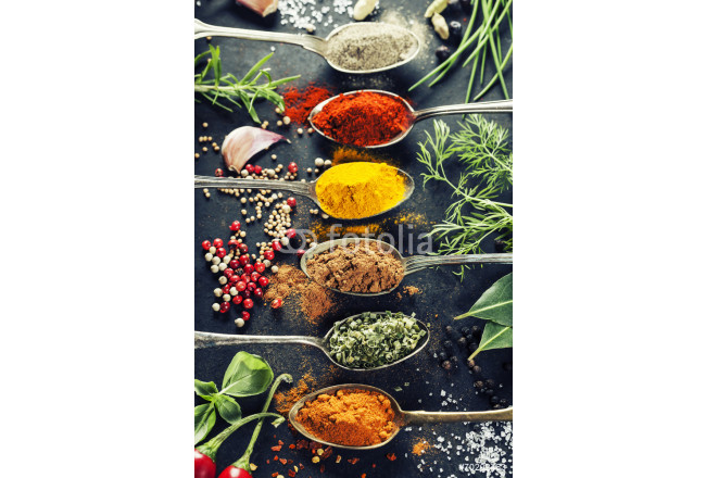 Cuadro decorativo Herbs and spices selection 64239