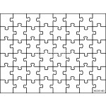 Puzzle vector background 64239