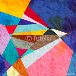 abstract watercolor geometric background 64239
