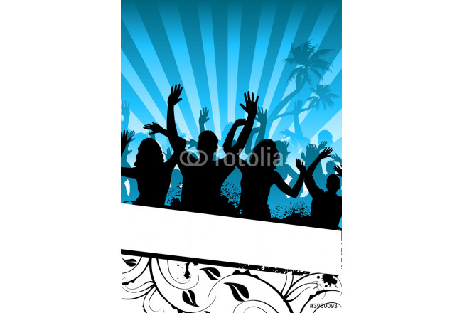 Art painting Funky Party People 64239