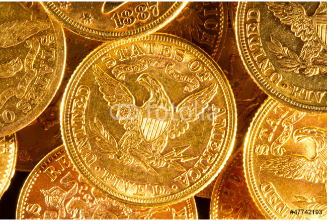 American gold coins. 64239