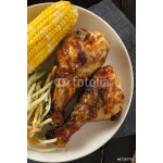 Homemade Grilled Barbecue Chicken 64239