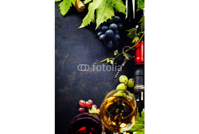 Painting Wine and grape 64239