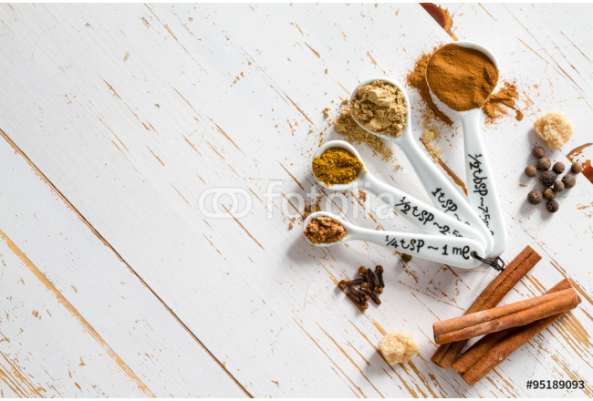 Selection of spices for christmas and thanksgiving 64239