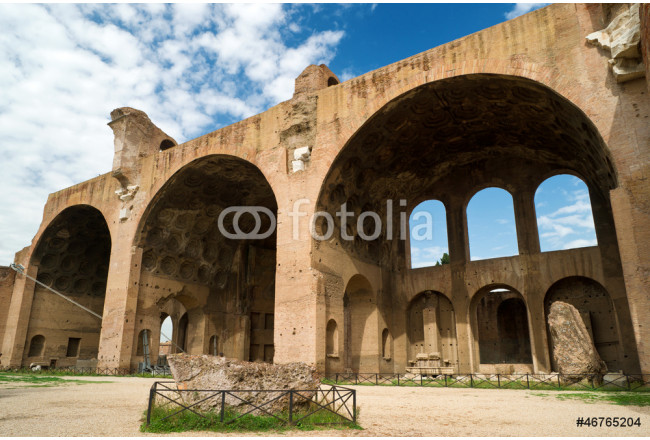 The Basilica of Maxentius and Constantine in Rome 64239