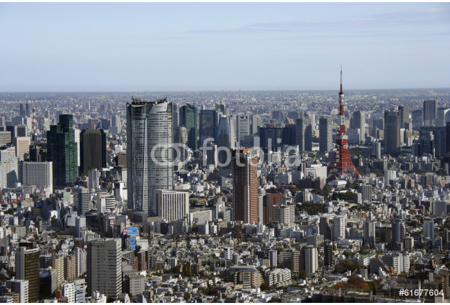 Aerial view of Roppongi areas 64239