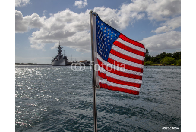 U.S.S. Arizona Memorial in Pearl Harbor HI 64239