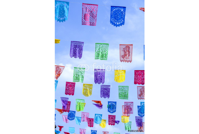 decorative paper for holidays in Mexico 64239