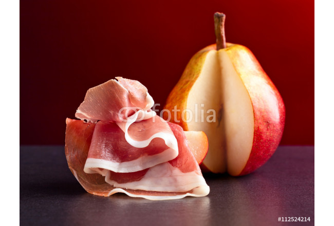 Spanish jamon with pear 64239