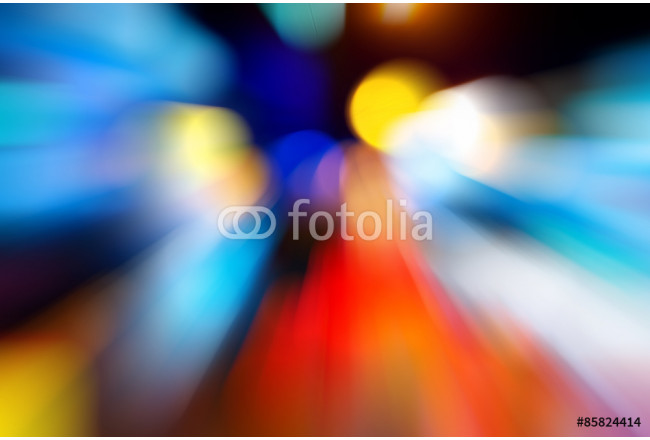 Abstract motion blur of traffic light background. 64239