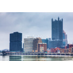 The Pittsburgh skyline in winter 64239