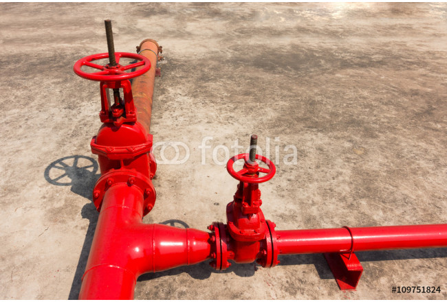 Fire protection main valve. 64239