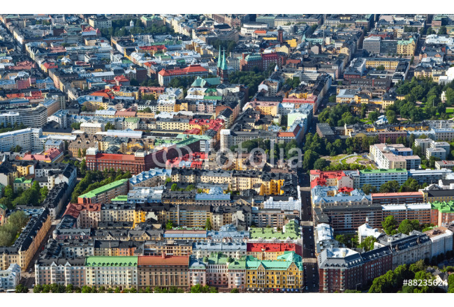 Airview of Helsinki Finland 64239