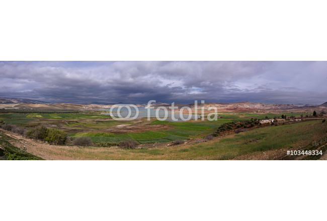 Panoramic of a reservoir in the city of Fez (Morocco) 64239
