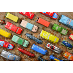 Collection of antique toy cars 64239