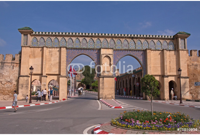 Meknes, Bab Moulay Ismail 64239