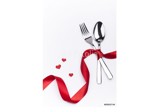 Celebration set with fork and spoon 64239