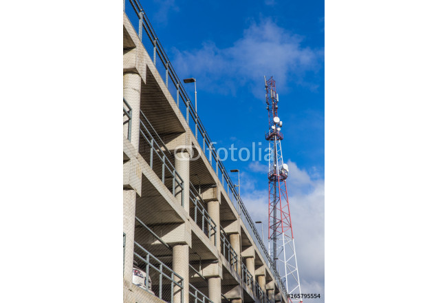 Mobile communication tower and multilevel parking 64239