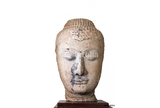 16th - 17th Century A.D. head from a buddha image in Ayutthaya s 64239