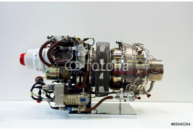 Helicopter engine 64239