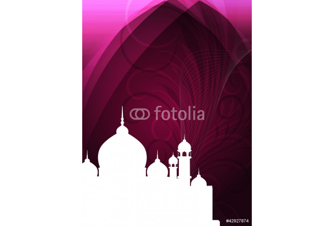 abstract religious eid background. Vector illustration 64239