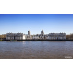 LONDON, UK - MARCH 16, 2014: Greenwich view and river Thames 64239