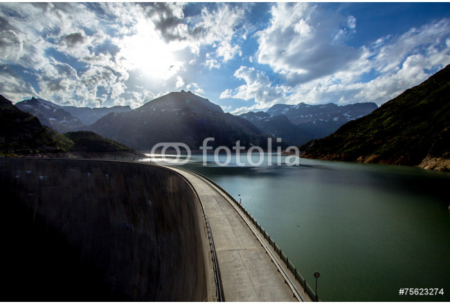 Lac d'Emosson, Alps in Switzerland 64239