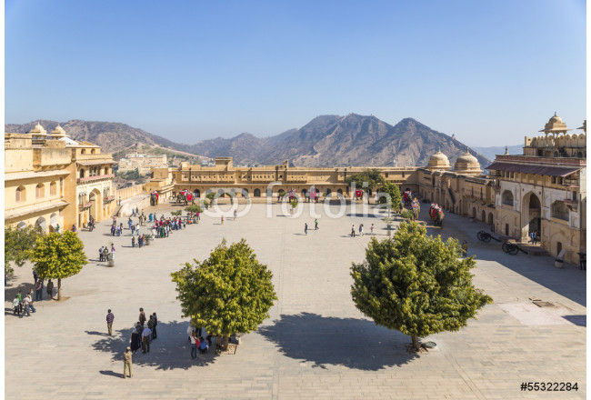 Amer fort, Jaleb Chowk, ( place for soldiers to assemble) 64239