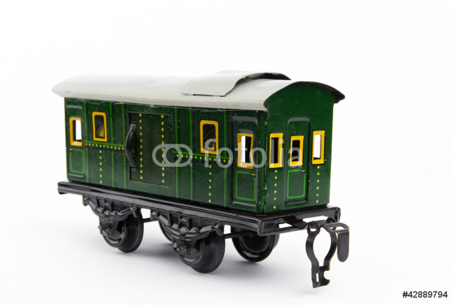 Old toy train 64239