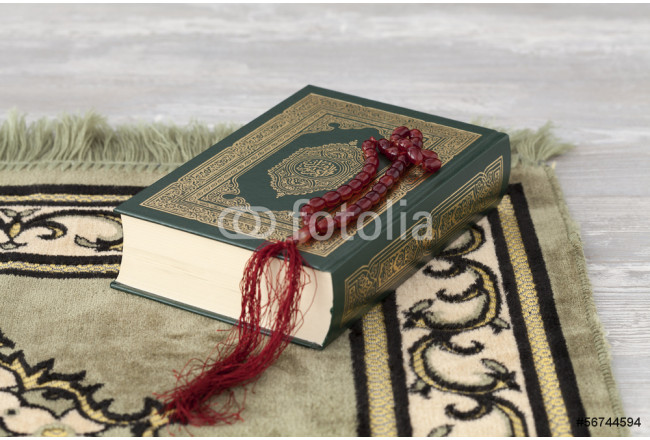 Cuadro decorativo The Quran and the prayer beads 64239